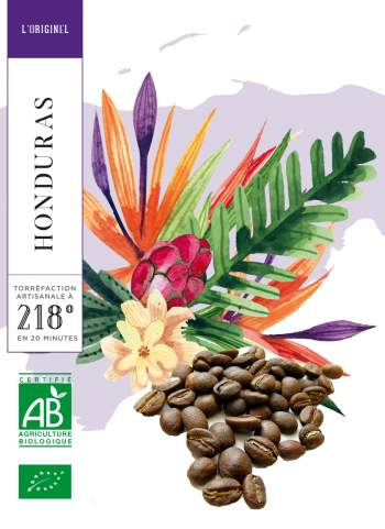 HONDURAS - HIGH GROWN - CAFE GRAIN - BIO - 250 G