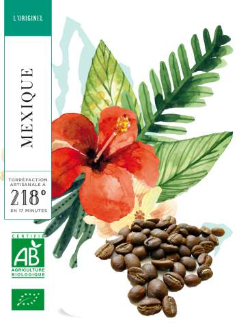 MEXIQUE - CHIAPAS - CAFE GRAIN - 250 g