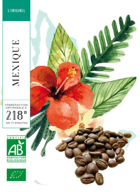 CHIAPAS - MEXIQUE - BIO - 250 G