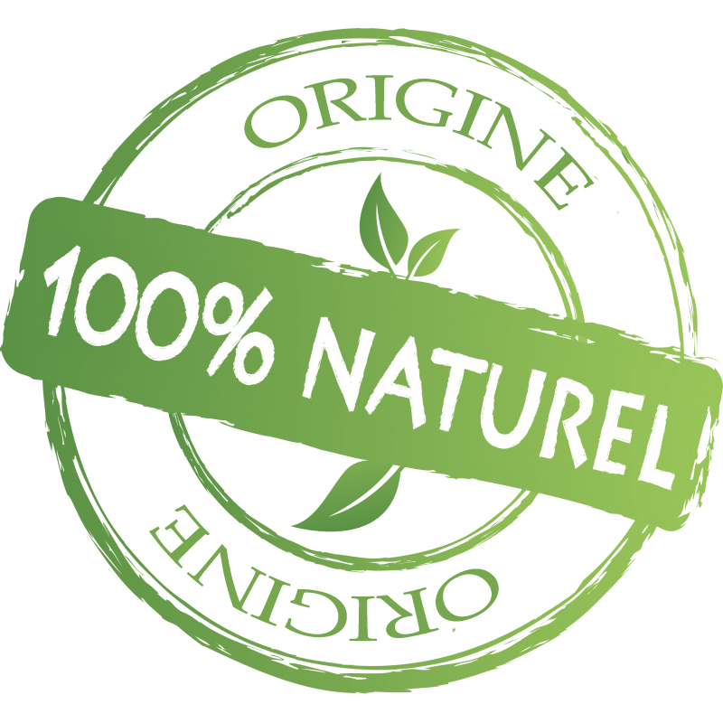d'origine 100 % naturel